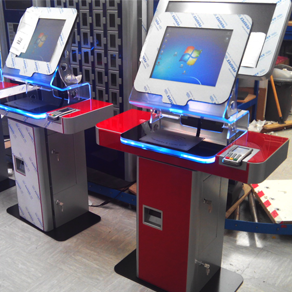 custom kiosk at Future Generation